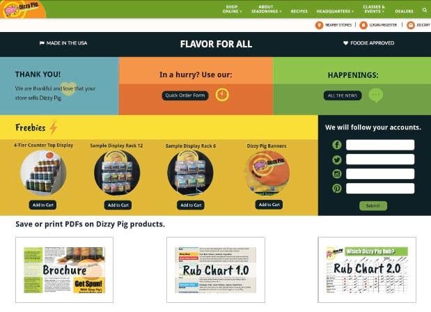 dizzypig_b2b_homepage